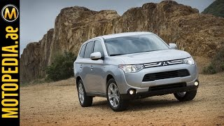 2015 Mitsubishi Outlander Review - ميتسوبيشي اوتلاندر - Dubai UAE Car Review by Motopedia.ae