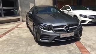 The new E-class Coupe E-300 Coupe AMG Line