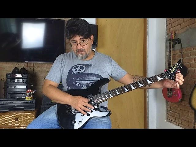Papo do Luthier - 4 Hands Luthieria - Guitarra - Jackson - JDR-NR - Sergio Zanchetta - 05.02.2019