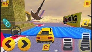 Crazy Car Driving Simulator 2 - Impossible Tracks Car Games - Android GamePlay #2