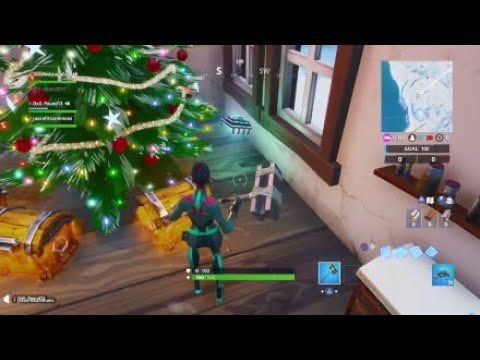 Fortnite Fortbyte #29 Location - Found Unerneath Tree in CrackShots Cabin