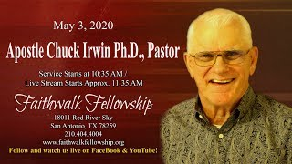Apostle Chuck Irwin - The Tribulation The Great, Part 1