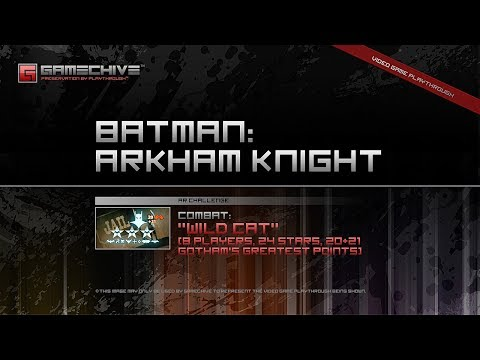 Batman: Arkham Knight (PS4) Gamechive (Combat Challenge 11: Wild Cat, 8 Players, 24 Stars,  20 RP)