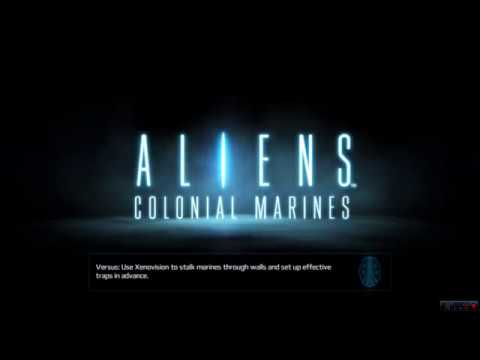 ALIENS COLONIAL MARINES  (PC - game)  mission 1 part 1  