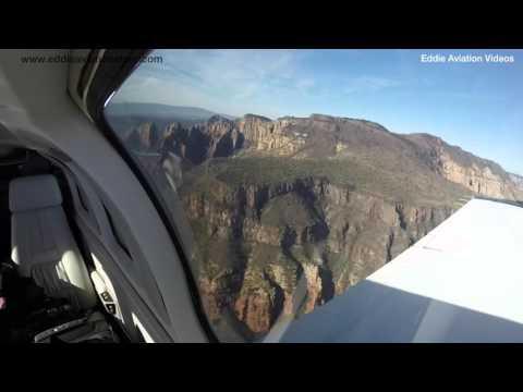 Takeoff form Sedona Arizona in the Bonanza