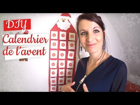diy calendrier de l 39 avent diy tuto no l youtube. Black Bedroom Furniture Sets. Home Design Ideas
