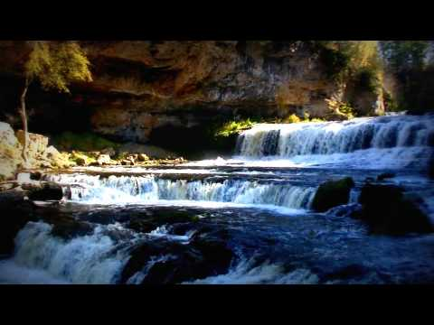 Relax to the sound of WATER (waterfall) 2 hours - YouTube