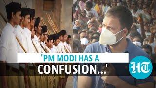 'Knickerwallahs from Nagpur': Rahul Gandhi mocks RSS in Tamil Nadu