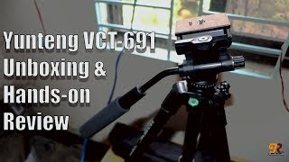 Yunteng VCT-691 Unboxing and Hands-on Review 2018