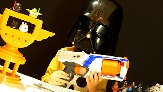 Нёрф Война - Nerf War: STRONGARM vs Star Wars !!! Бластреры Нерф vs Звёздные Войны