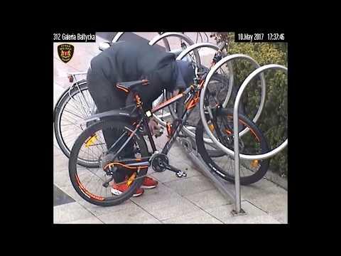 Zuchwały Złodziej Rowerów W Gdańsku / An Audacious Bike Thief In Gdansk
