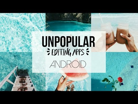 unpopular-editing-apps-|-android