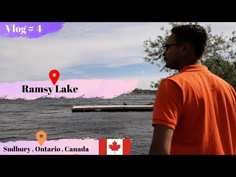Ramsy Lake Tour 🇨🇦  Sudbury , Ontario 🇨🇦   Vlog # 04