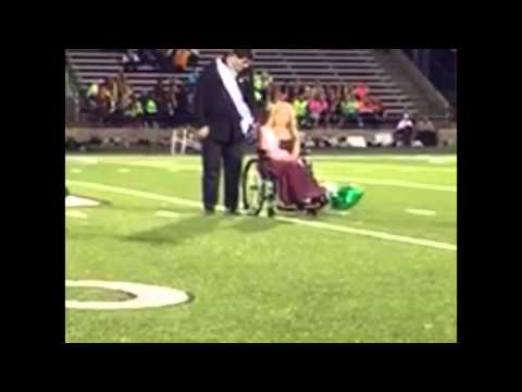Watch Jenison High School senior Kate Veldink be surprised with Homecoming Queen announcement
