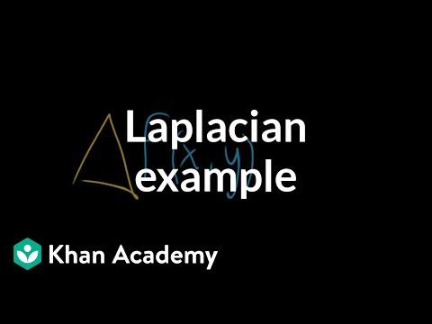 Laplacian computation example