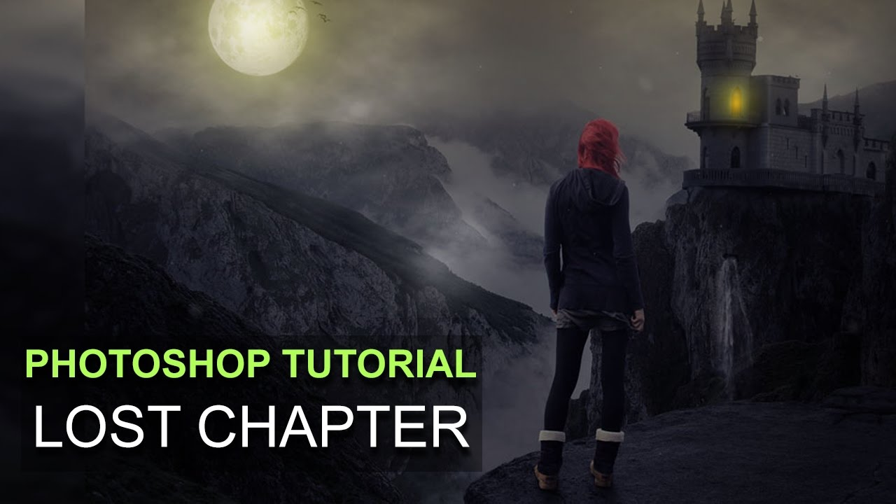 The Lost Chapter: Photo Manipulation Tutorial