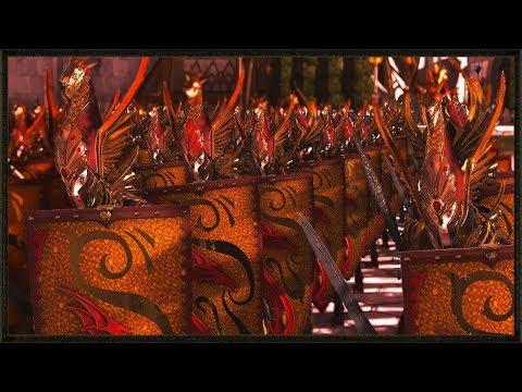 Legendary 3 vs 4 Siege Battle - Steel Faith Overhaul Mod - Total War: Warhammer 2