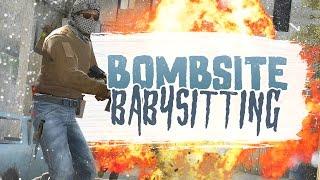 BOMBSITE BABYSITTING - CSGO