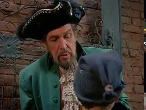 Vincent Price in Daniel Boone