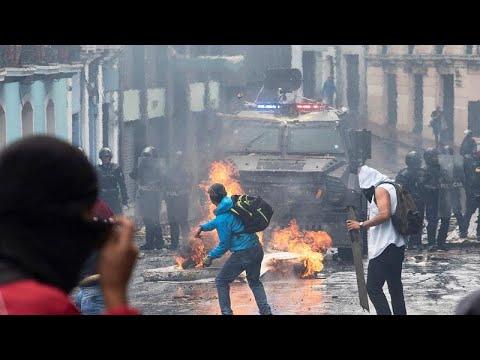 """Режим ЧП в Эквадоре из-за """"бензиновых протестов"""""""
