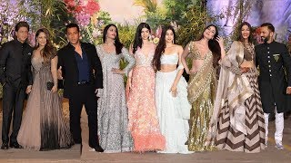 Full HD Video: Salman Khan, Jhanvi Kapoor, Shah Rukh Khan At Sonam Kapoor's Grand Wedding Reception