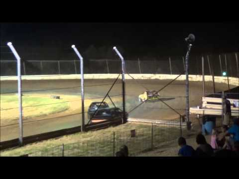 Doe Run Raceway Mini Stock Feature 7-17-15