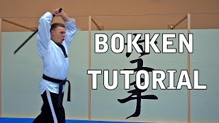 BOKKEN TUTORIAL - BASIC SCHLAG