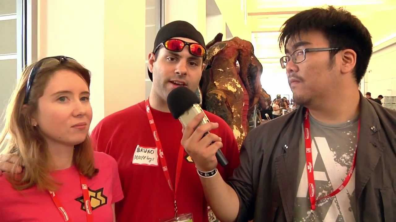 Interview with MMPR Toys' Bruno and Mia - YouTube