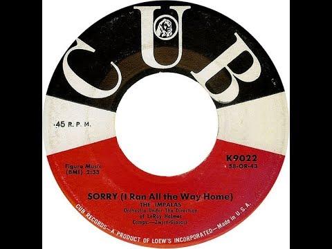 The Impalas - Sorry I Ran All The Way Home 1959