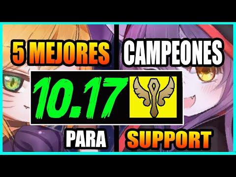 5 MEJORES CAMPEONES SUPPORT S10 | Lo más ROTO y OP PARCHE 10.17 | Tier List S+ | GUÍA LOL – #GagoOP