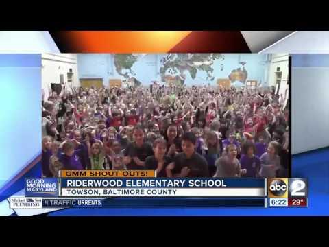 Riderwood Elementary School in Towson says Good Morning Maryland