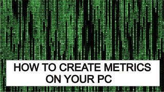 How to Create Metrics View on Your Laptop