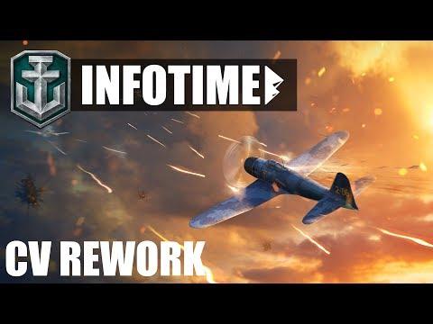 NEUES Vom CV REWORK, Video Aus Dem Supertest - World Of Warships | [Info] [Deutsch] [60fps]