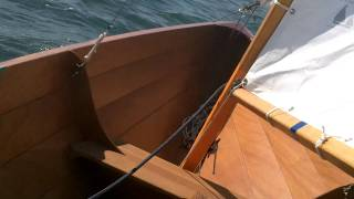Sailing Clc Northeaster Dory 17' In Long Island Sound