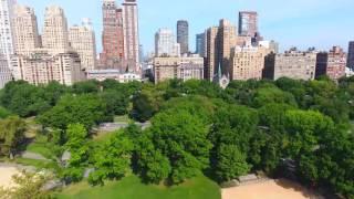 DJI Phantom 4: Central Park and New York City Skyline