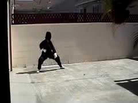 å°' æž— 功夫, è...¿, Beginner Shaolin Muslim Tam Tui From Ta