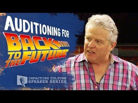 "Auditioning for ""Biff"" from Back to the Future 