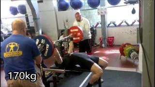 Comp day! 250kg squat, 170kg bench, 340kg deadlift - 760kg (1675 lb) at 91.8kg (