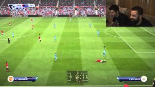 Manchester United - Manchester City (The Greek Way) - FIFA 15