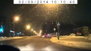 ДТП в Северодвинске 09 02 14(Аварии на дорогах видео http://zonadtp.ru., 2014-02-10T10:38:03.000Z)