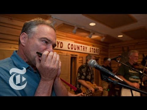 Tim Kaine, the Harmonica Player | Democratic Convention | The New York Times