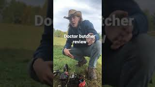 Doctor butcher reviews a China saw
