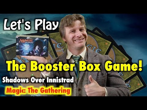 MTG - Let's Play the Shadows Over Innistrad Booster Box Game for Magic: The Gathering! (Release)