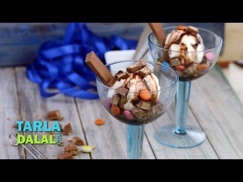 Kit-Kat Sundae by Tarla Dalal