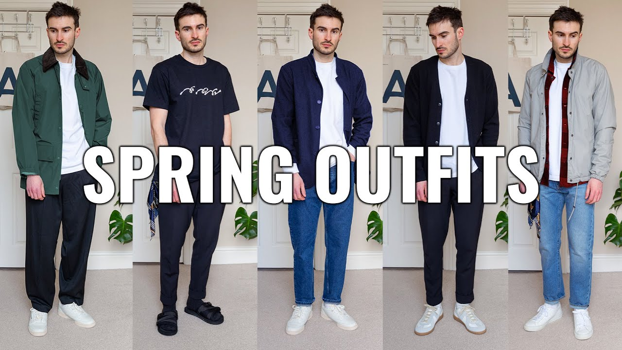 Spring Fashion Outfit Ideas For Men 2021