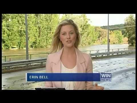 WIN News: Queanbeyan floods - 9 December 2009
