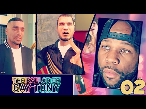 GTA: The Ballad Of Gay Tony DLC Walkthrough Part 2 -  (GTA 4 Mods)