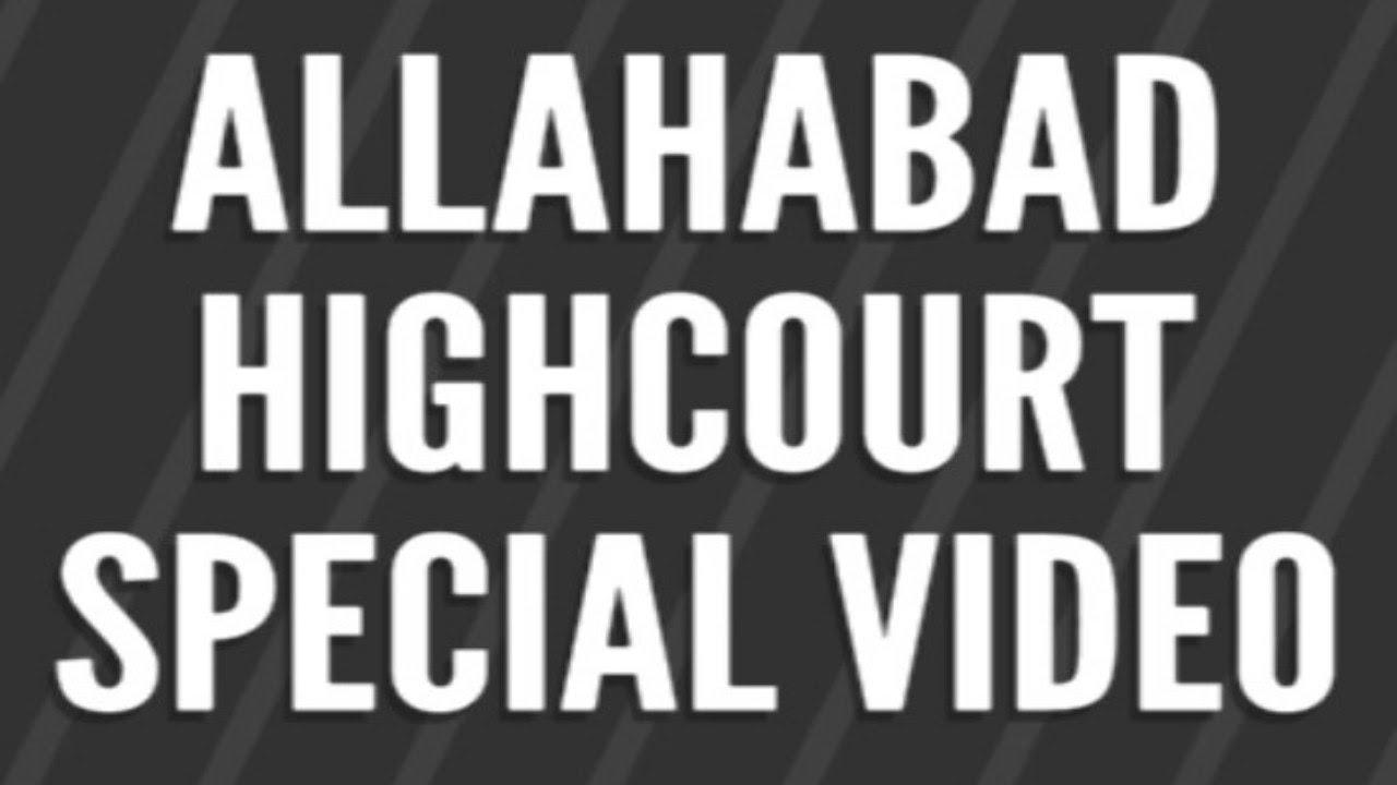 Allahabad Highcourt/Lekhpal...Birthday Special Video..//////