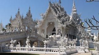 おっさんの一人旅44 チェンライ旅行 白い寺院「ワット・ロン・クン」