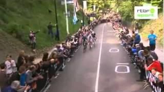 Último kilómetro Amstel Gold Race 2011 Gilbert Joaquim Rodríguez Cauberg